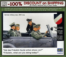 """Master Box 3570 """"Fraulein, what are you doing today?"""" German Soldiers 1/35"""