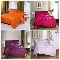 1000TC Striped Doona Quilt Duvet Cover Set Single/Queen/King Size Bed 100%Cotton