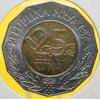 1998 Croatia 25 kuna Lisbon Lisabon Expo - Bi metallic