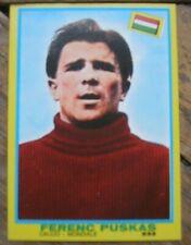 PUSKAS TUTTOSPORT I CAMPIONISSIMI MIRA 1968 NEW CARD FIGURINA CALCIO MINT REGALO