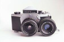 Exakta VX500 + Pentacon 30mm f3.5 + Meyer-Optik Domiplan 50mm f2.8