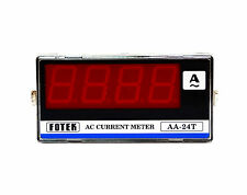 1pc Fotek AC Current Meter AA-24T 3-1/2 Digit 0.0~30.0A DIN 48x96 Acc ±0.2% FS