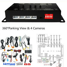 Car Suv Record 360 Degree Full Parking Views With 4 Cameras Dvr&Video Monitoring(Fits: Ford Aspire)