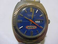 VINTAGE CARAVELLE AUTOMATIC WINDABLE 1971 SWISS MADE 17 JEWELS MEN'S WATCH RARE