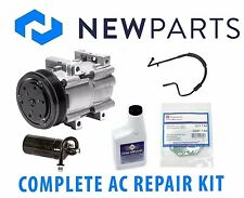 Ford Mustang V8 5L 1994 Complete A/C Repair Kit OEM Compressor with Clutch