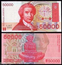 CROACIA / CROATIA 50000 dinara 1993 Pick 26 SC  UNC