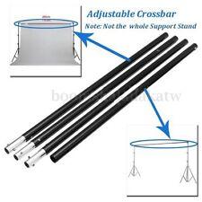 Studio 2.m/6.6ft Adjustable 3 Section Crossbar Background Backdrop Support Stand