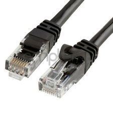 5FT CAT6 Cable Ethernet Lan Network CAT 6 RJ45 Patch Cord Internet Black NEW