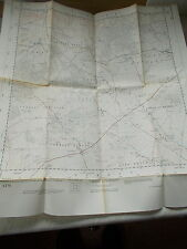 A War Office Ordnance Survey Map Of Part Of Wiltshire Sheet ST 91 - Pub. In 1961