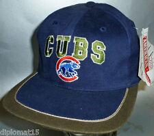 American Needle VINTAGE Snapback Cap MLB Chicago Cubs 90s NOS NUOVO
