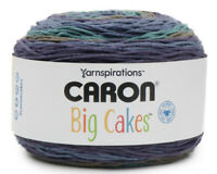 NEW! Caron BIG  Cakes Yarn Blueberry Torte 10.5oz 603 Yards #4 Weight