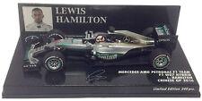 Minichamps Mercedes W07 Chinese GP 2016 - Lewis Hamilton 1/43 Scale