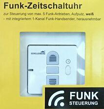 Schellenberg Funk Zeitschaltuhr Aufputz Rollladenschalter Rohrmotor 20031 Neu