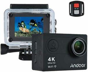 Andoer AN6000 4K 16MP WiFi Action Sports Camera 1080P Ultra HD avec...