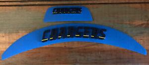 Scrap Yard: Used Los Angeles Chargers Speedflex Football Helmet 3D Bumpers