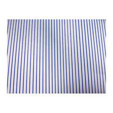 SA-Dollshouse WP1040 Tapete blaue Streifen 29x42 cm 1:12 für Puppenhaus NEU! #