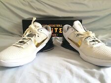 NEW DS Authentic Nike Zoom Kobe VII 7 System Elite White Gold Size 10