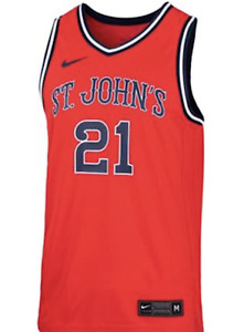 St John's Red Storm CUSTOM Basketball Jersey +700 SOLD Adult Small to Adult 3XL