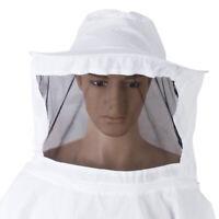 Abeille Protection Veste Beekeeper Chapeau Tête Voile Apiculture Protéger de Kit