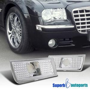 For 2004-2010 Chrysler 300 300C Side Marker Lamps Turn Signal Lights