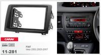 CARAV 11-281 2Din Marco Adaptador Kit de Radio para FIAT Idea (350) 2003-2007
