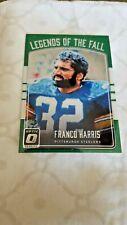 2016 Donruss Optic Legends of the Fall Football Card # 12 Franco Harris Steelers