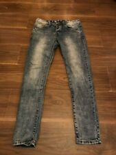ALWAYS LADIES ACID WASH SKINNY JEANS SIZE 10 32W 30L