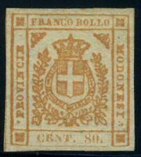 Italy Modena 1859 80 cents MNG Sas 18 CV $90 200123004
