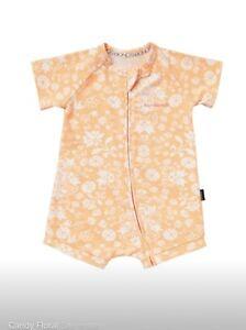 Bonds Zippy Wondersuit Candy Floral 000 *BNWT*. 10 Items = $5 Post