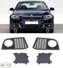 BMW 5 M-SPORT 2010 - 2013 FRONT BUMPER FOG LIGHT GRILLE & INNER PART LEFT+RIGHT
