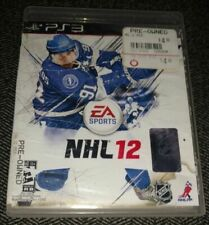 NHL 12 - PS3 - MISSING MANUAL - FREE S/H - (F)