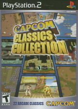 Capcom Classics Collection Volume Vol 1 ONE [PlayStation 2 PS2 Street Fighter]
