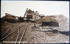 FOLSOM CA ~ 1900's Rock Crusher ~ Mining Operation ~ Railroad Tracks