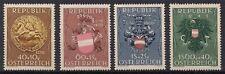 1949 AUSTRIA ÖSTERREICH MICHEL Nr. 937/940  UNIFICATO 773/776  MNH ** €.45,00