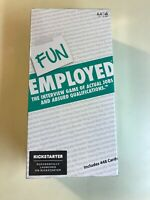 NEW Funemployed Board Game Interview Game Actual Jobs & Absurd Qualifications