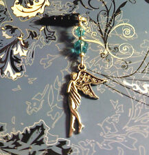 Fairy Angel Cell Phone Charm~Dust Plug Cover~All Phones~Free Ship