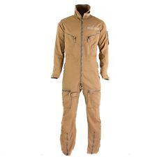 Genuine German Airforce Luftwaffe Nomex Desert Flying Flight Suit, Med XLong