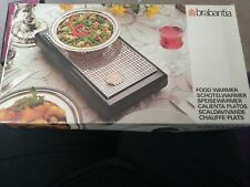 Brabantia Harvest design 2 Tealight food warmer and storage set Unused boxed