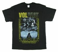 Volbeat Lonesome Rider Coffins Black T Shirt New Official Band Merch