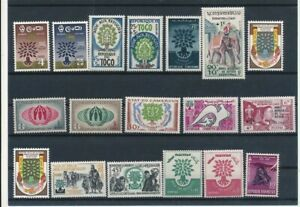 D174112 World Refugee Year 1960 Nice selection of MNH stamps