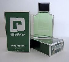 2x100ml PACO RABANNE POUR HOMME 100ml  AFTER SHAVE  200ml NEU OVP Folie