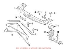 BMW OEM 15-16 M4 Radiator Core Support-Side Bracket Left 51648054325