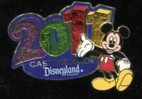 DLR Cast Exclusive 2011 New Year Mickey Mouse Disney Pin 82494