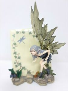 Catch a Dragonfly Fairy Butterfly Notepad holder Figurine Ornament Nemesis Now
