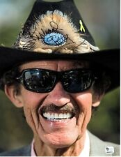 Huge 8x10 Signed Photo of Richard Petty the King of NASCAR