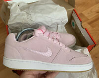 Nike Women's Ebernon Low Prem Trainers Size UK 5.5 EUR 39 Pink AQ2232 600 NEW