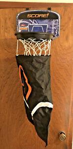 Wham-o Hamper Hoops Basketball Over the Door Laundry Bag