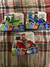 Pj Masks Kickback Motorcycles Pull back and go  Catboy, Owlette, Gecko