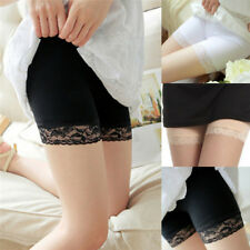 Lace Women Summer Pants Safety Shorts Legging Sexy Yoga Seamless Pants Lady