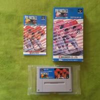 SNES Super Famicom - Pro Football (JAP) (mit OVP, Anleitung, Booklet, Manual)